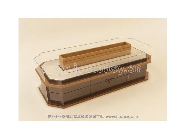 珠宝展柜模型3d模型下载[id:9270]
