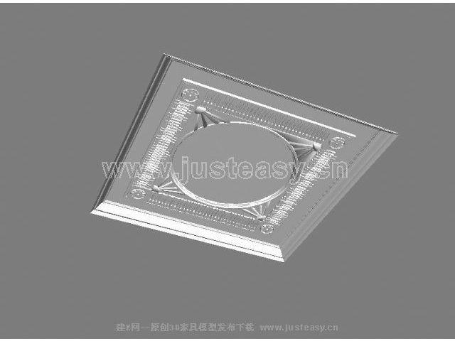 gaudi品牌穹顶43d模型下载[id:13675]