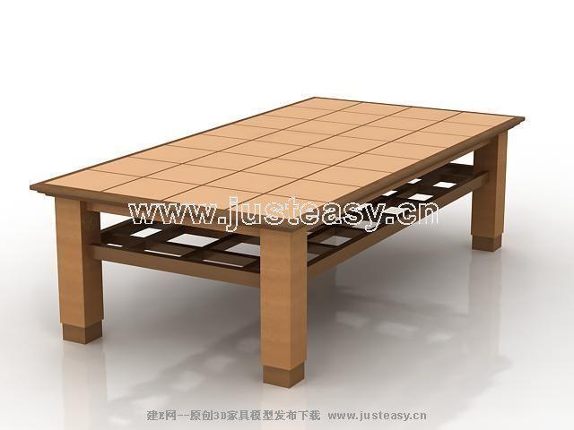 实木桌子贴图素材高清