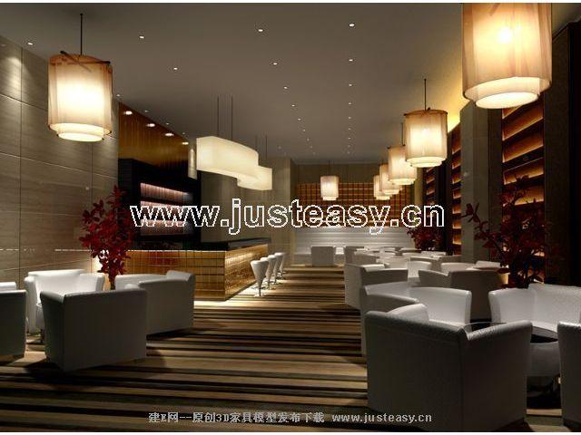 建e网 模型首页 酒店商业 酒店餐饮 水吧区[模型id:21823]    签名:暂