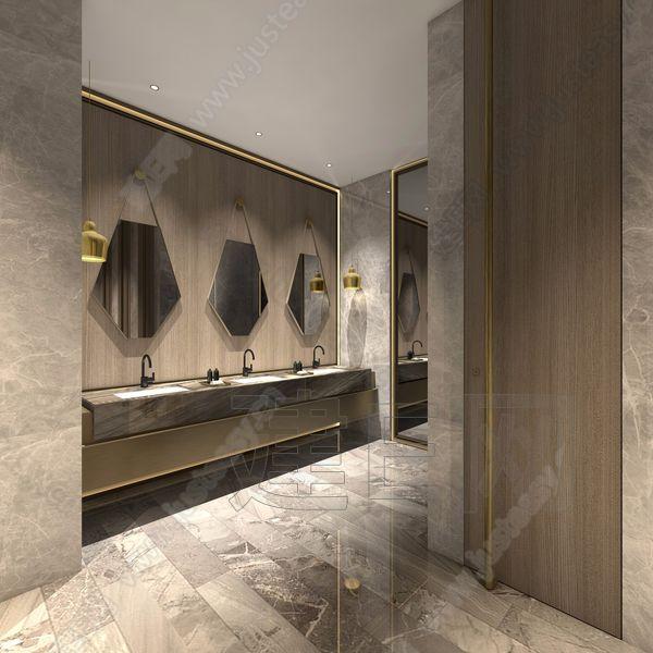 现代洗手间3d模型