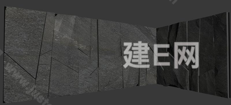 新中式庭院3d模型