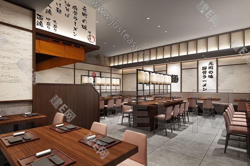 日本料理3d模型