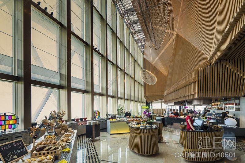 HBA--南昌绿地华邑酒店|效果图+官方摄影+全套CAD施工图 3.28G