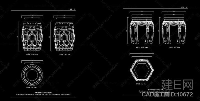 中式明清家具CAD图库