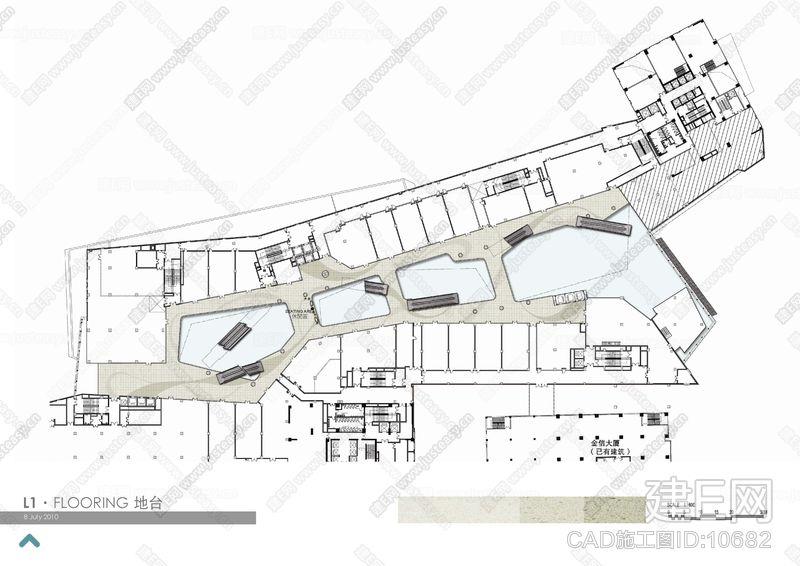 【Aedas】Since Landmark广场购物中心|CAD施工图+设计方案