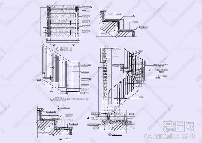 栏杆CAD图库