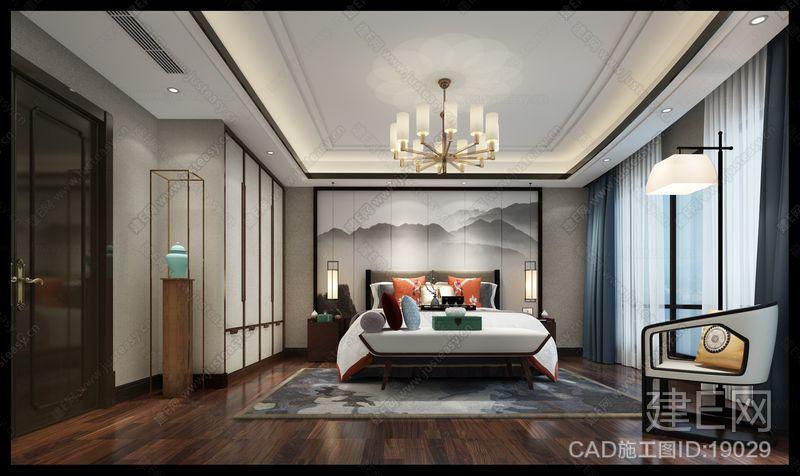 金色港湾|CAD施工图+效果图