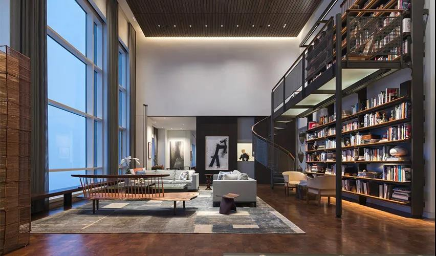 艺术品收藏家的顶层公寓 | Wheeler Kearns Architects