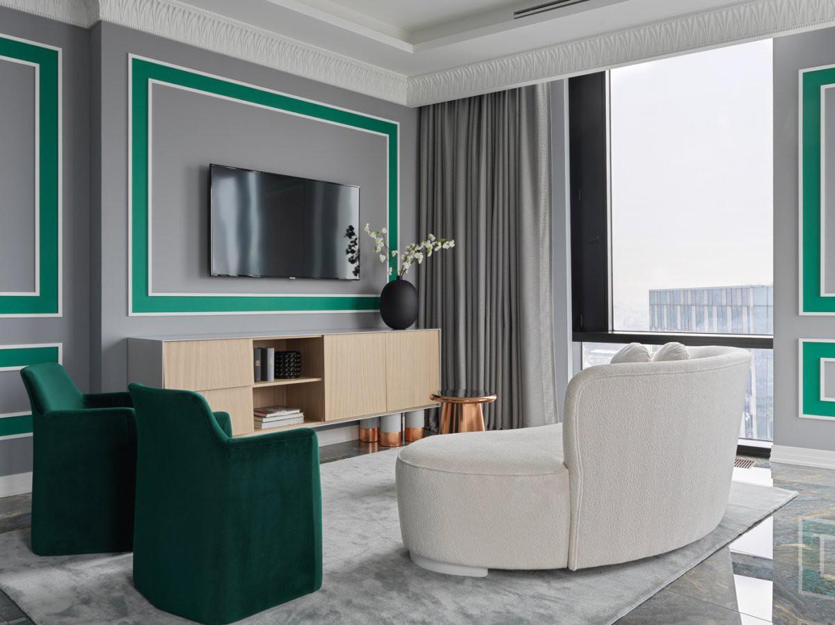莫斯科的现代简约公寓Moscow Apartment |  Berphin Interior