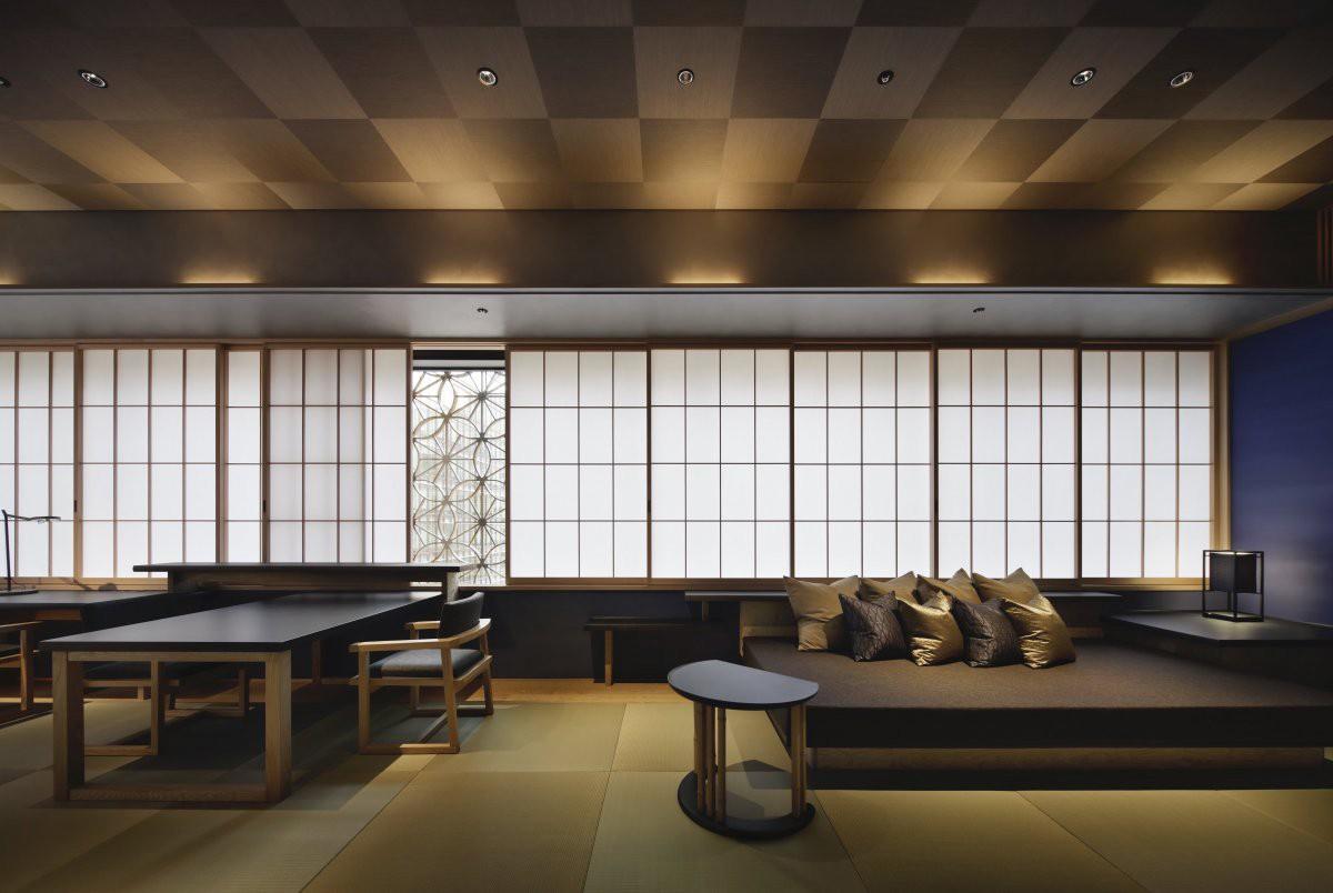 独立、安静的日式旅馆Hoshinoya Tokyo    Azuma Architect
