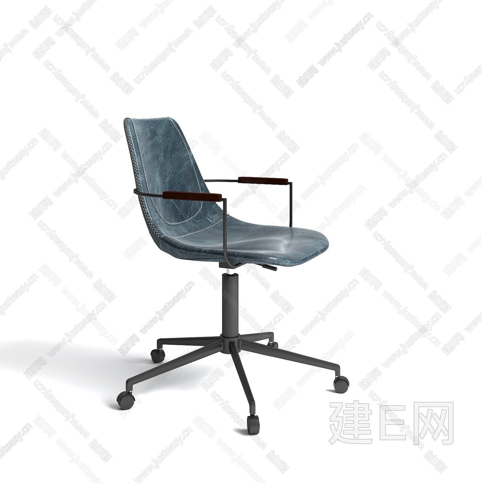 BogiBogie 博毅 北欧办公椅3d模型