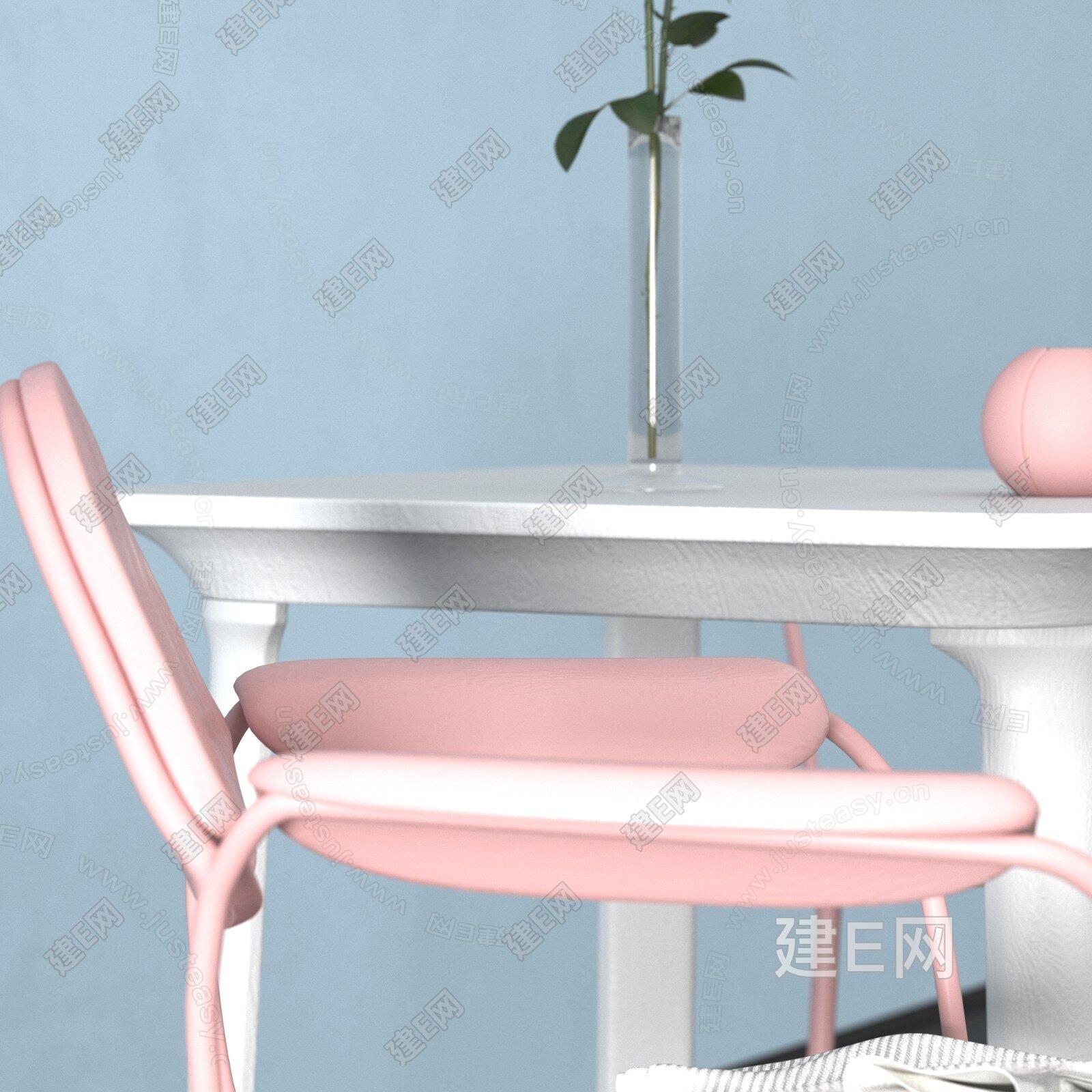 造作 现代单椅3d模型