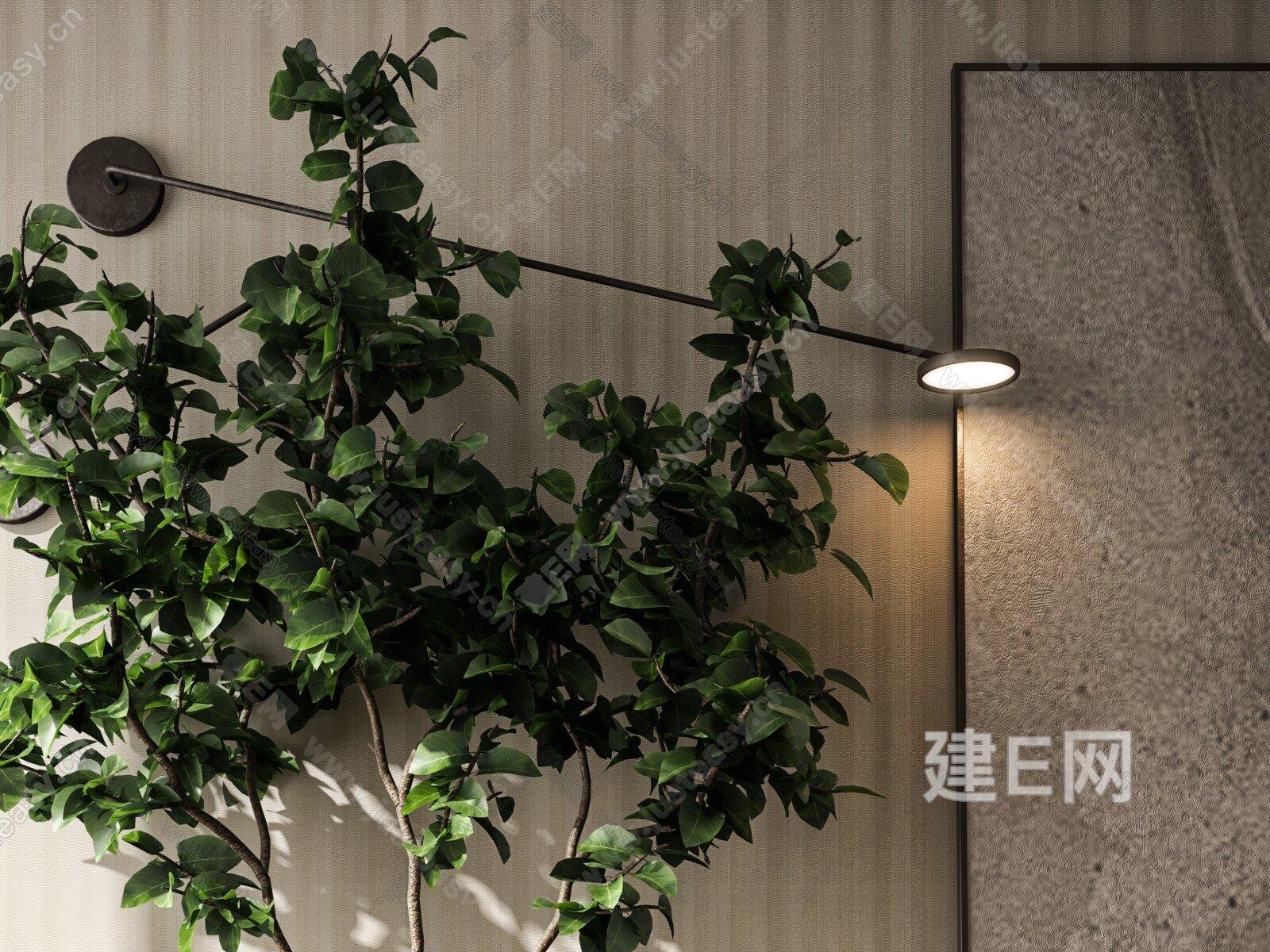 盆栽摆件3d模型