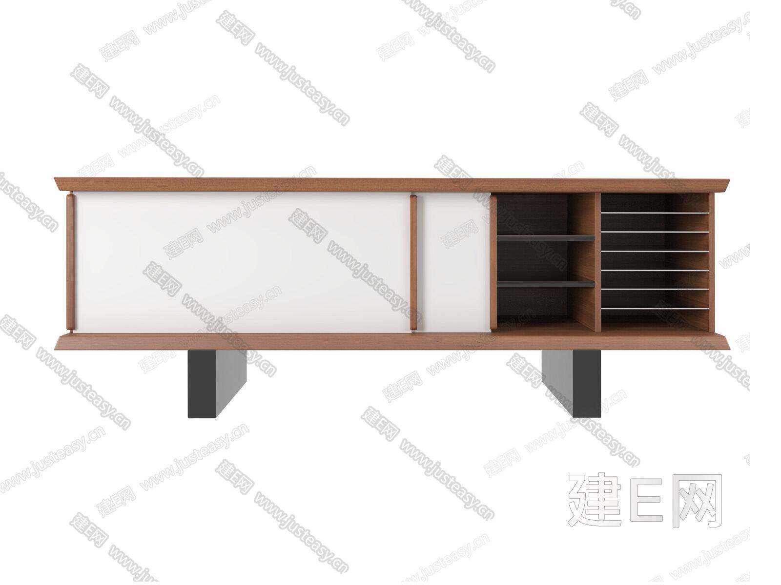 意大利 Cassina 现代电视柜3d模型