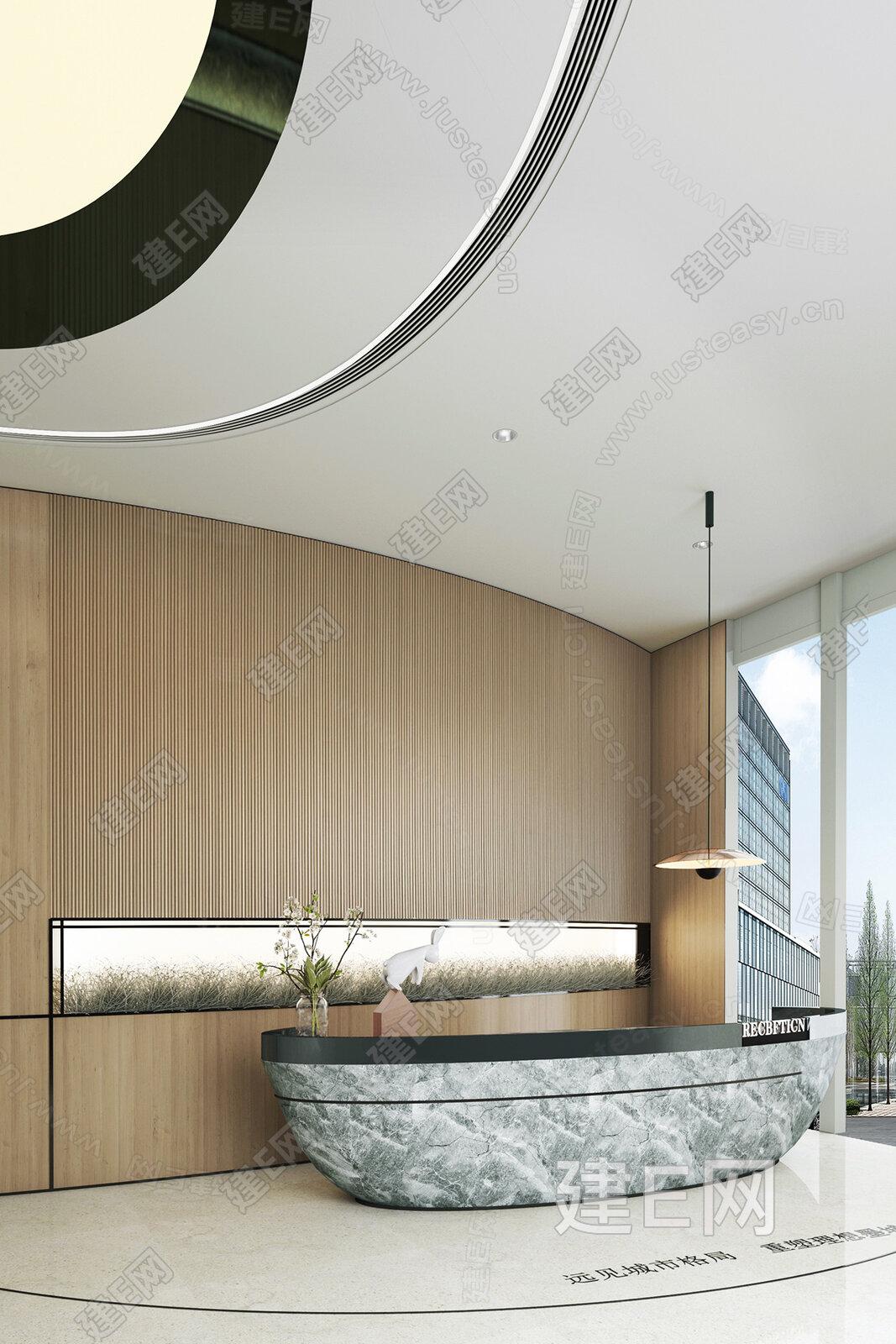 MOD 墨设设计 现代售楼处装饰摆件3d模型