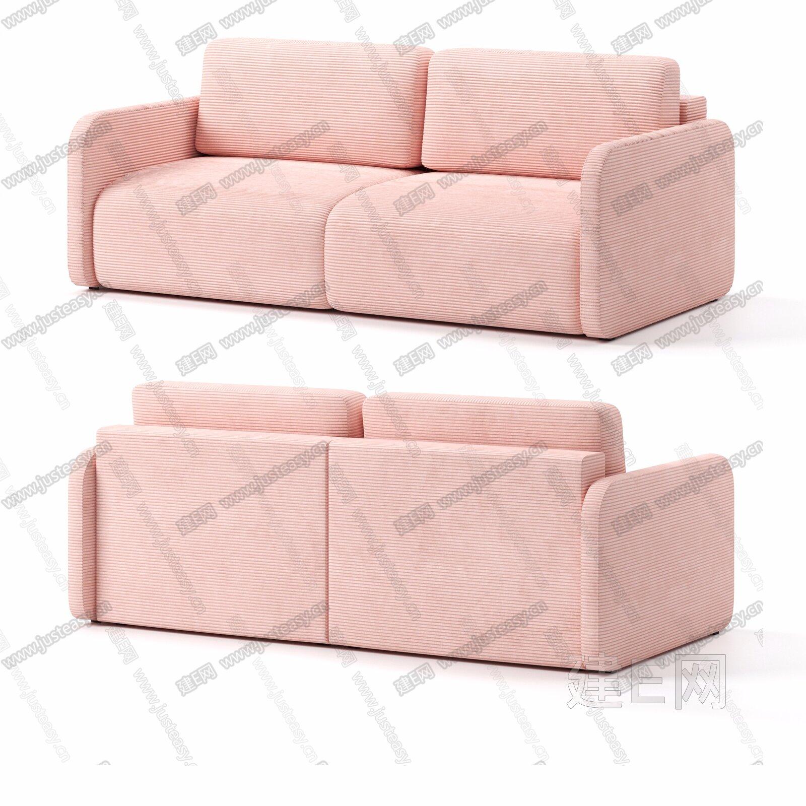 Home 现代沙发3d模型