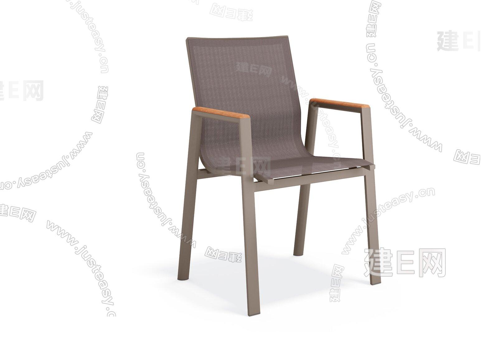 sunair 诗乐尔 现代单椅3d模型