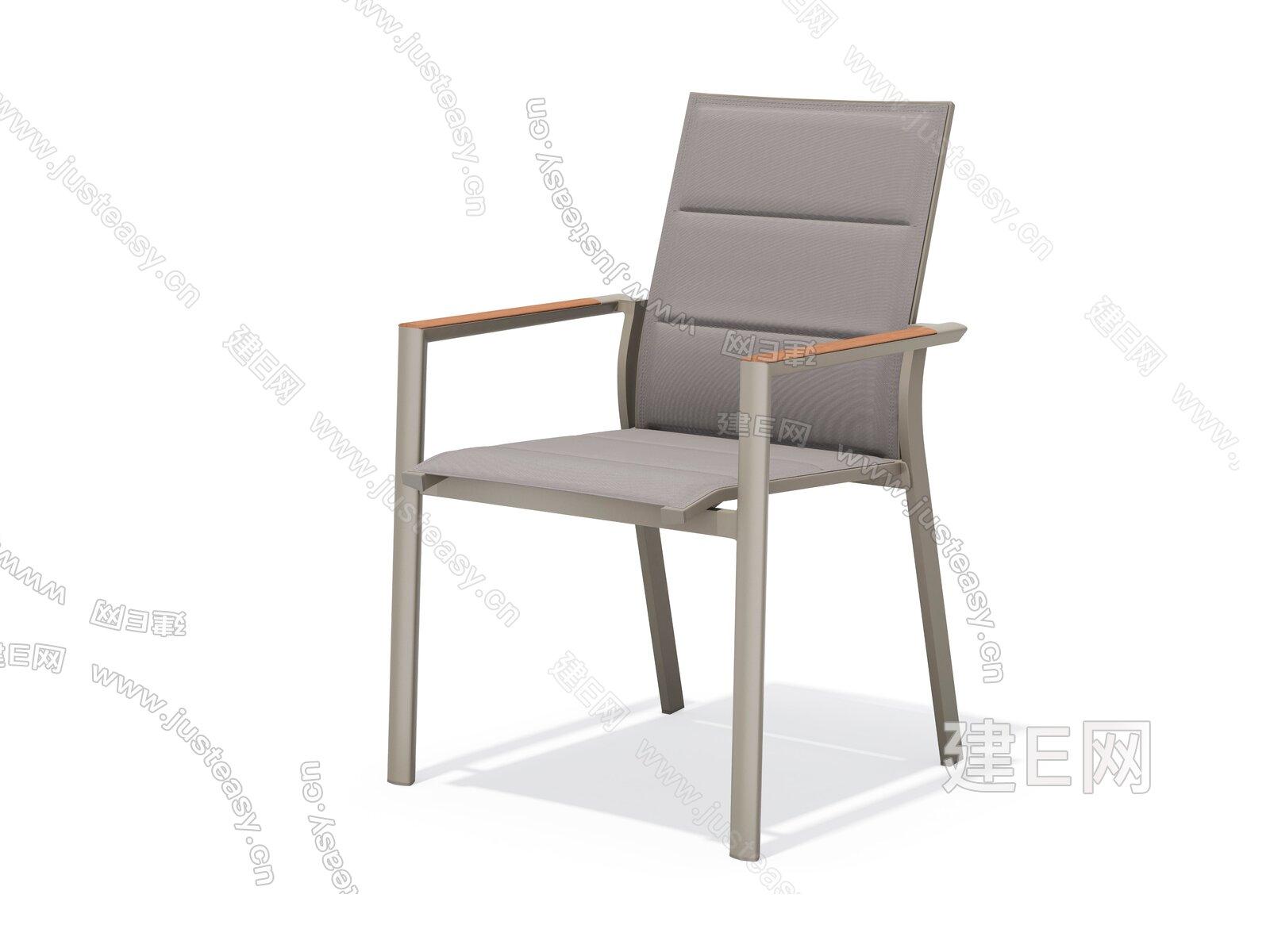 sunair 诗乐尔  现代网布椅3d模型