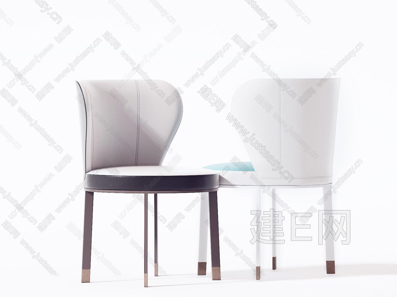 Chi Wing Lo 新中式单椅3d模型