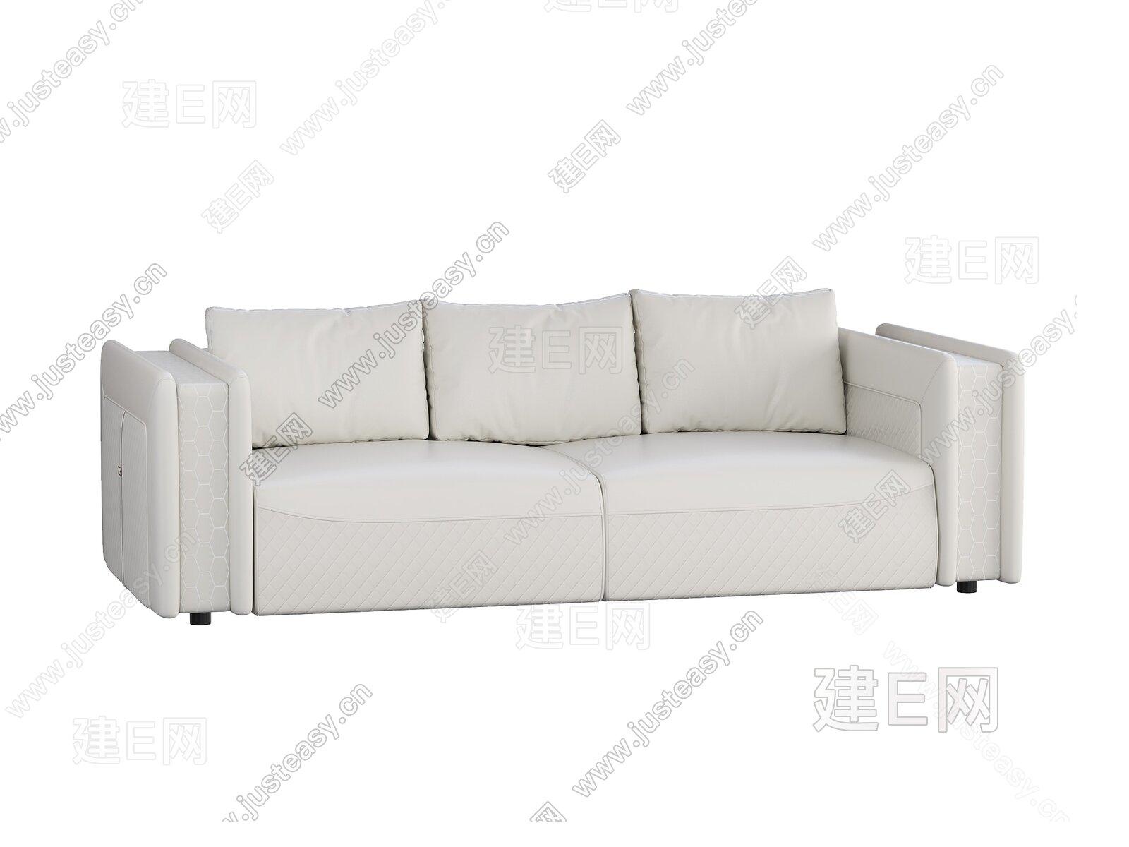 Armani 现代双人沙发3d模型
