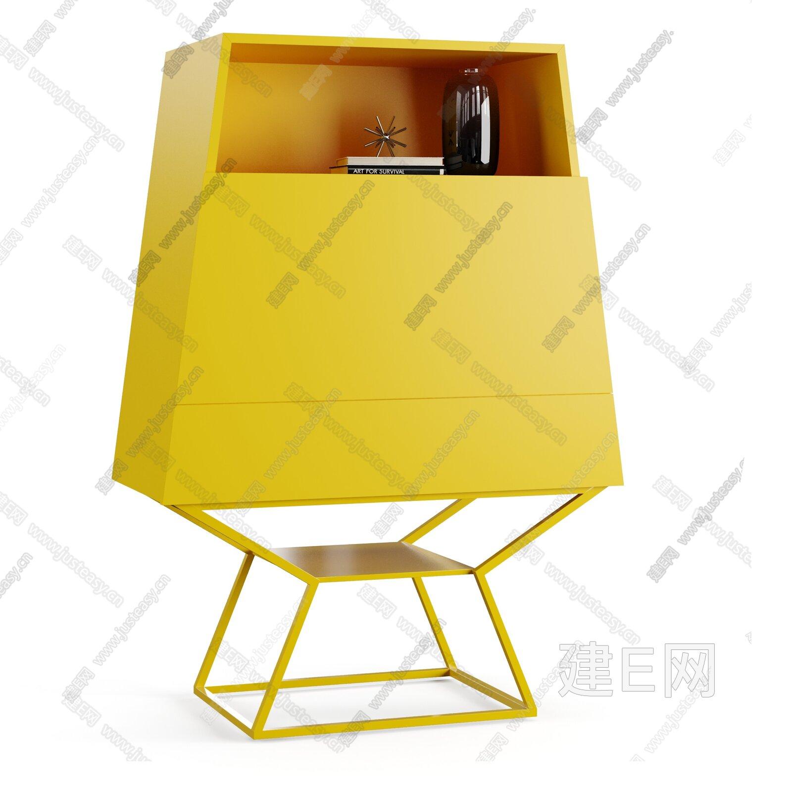 Bonaldo SUMMER 現代書柜3d模型