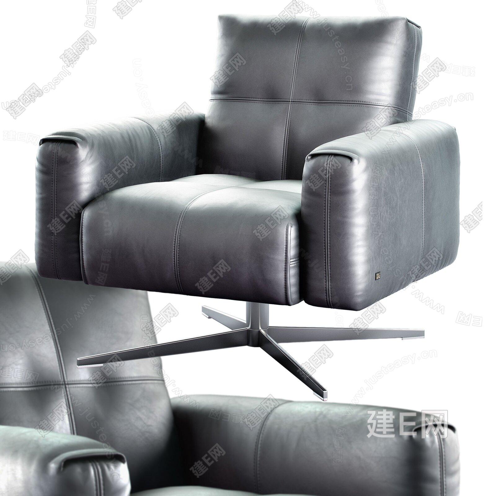 Rolf Benz 现代单椅3d模型