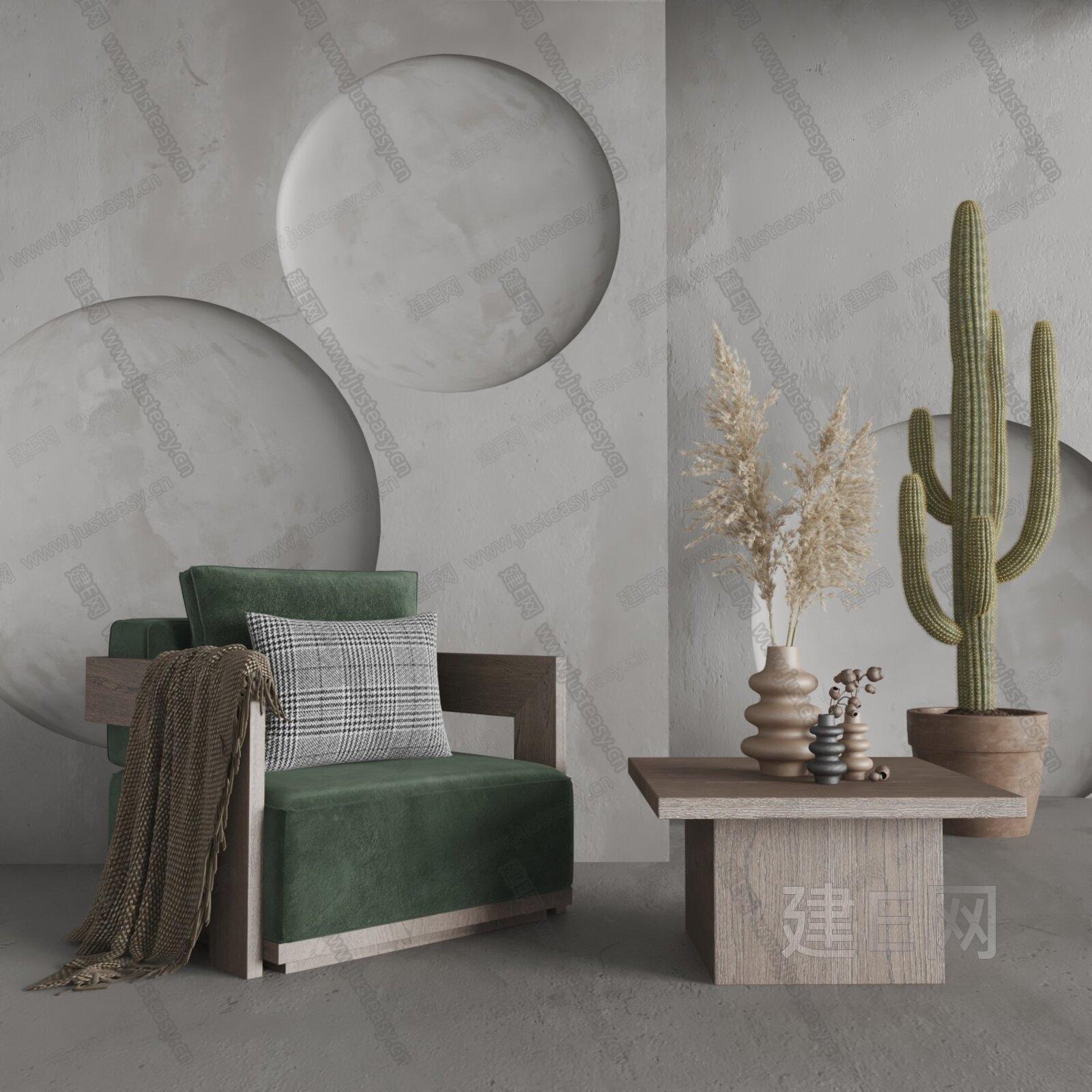 Morelato 现代单人沙发3d模型