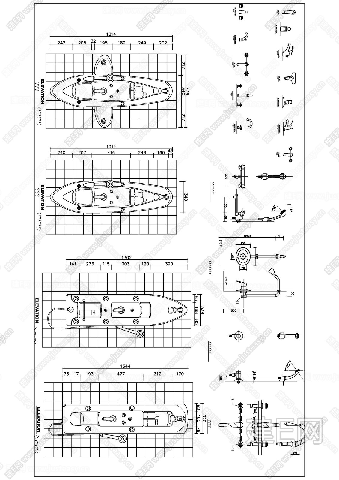 厨卫 |CAD图块