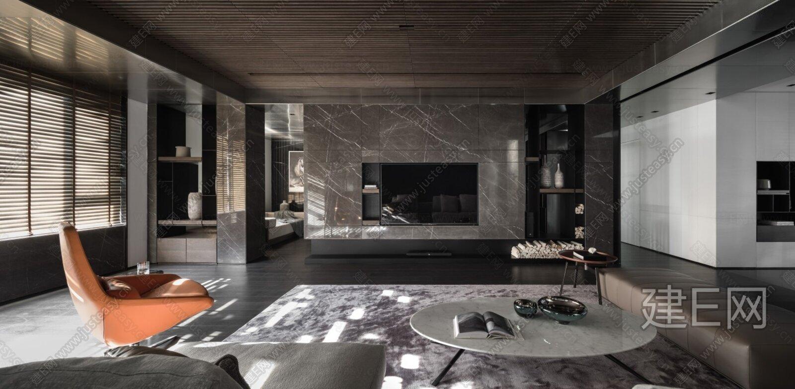 【唐忠汉】沈阳540㎡顶奢复式私人豪宅|CAD施工图+效果图+视频解析