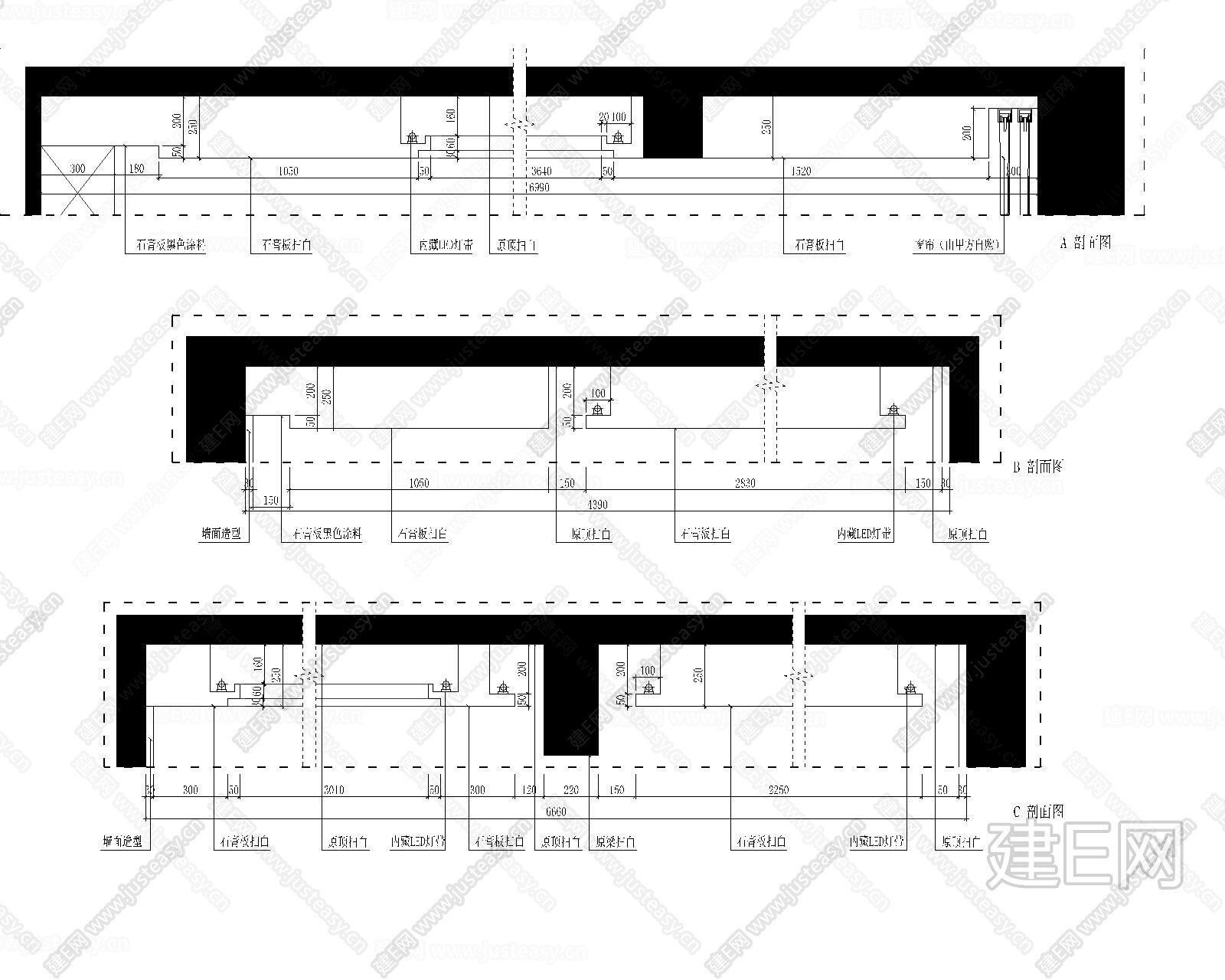家装竣工图|CAD施工图