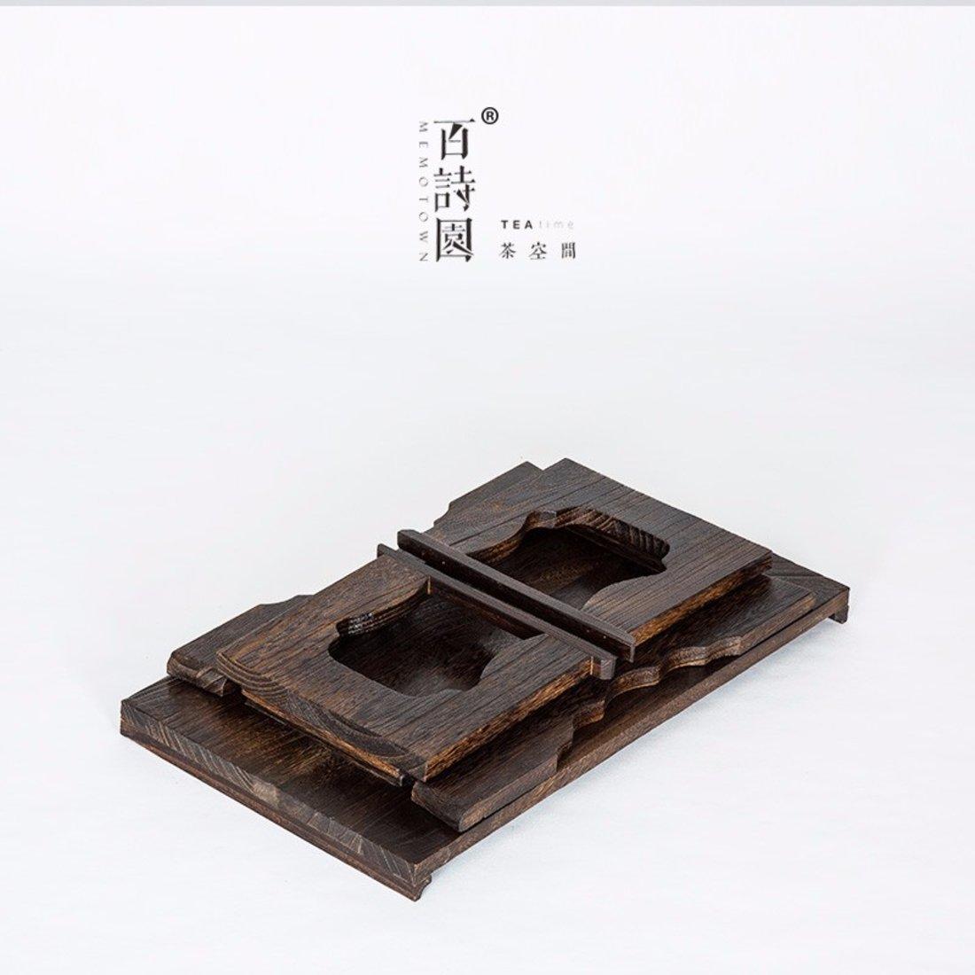 「茶桌」日式烧桐木茶桌