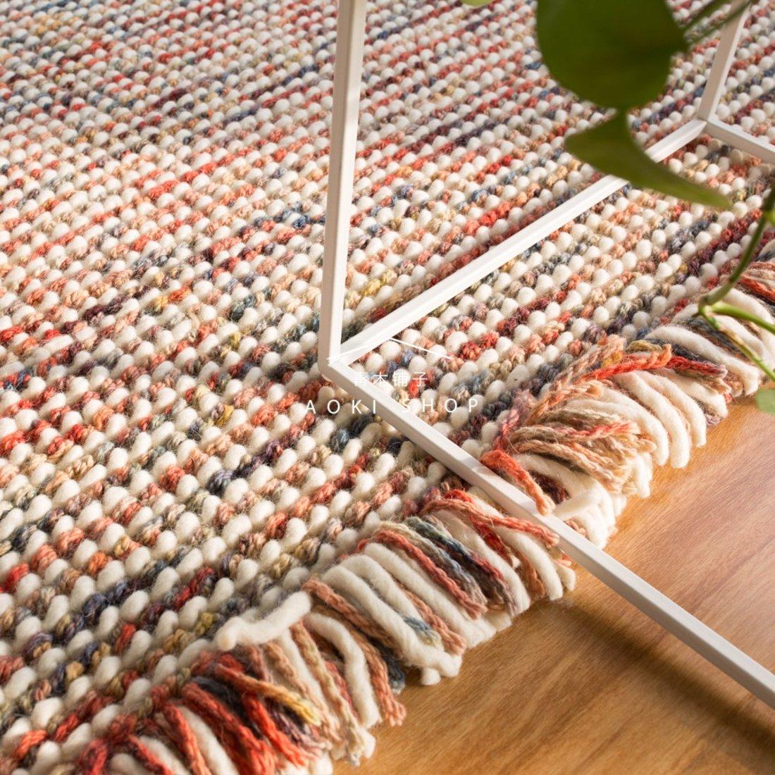 新西兰羊毛手工编织地毯