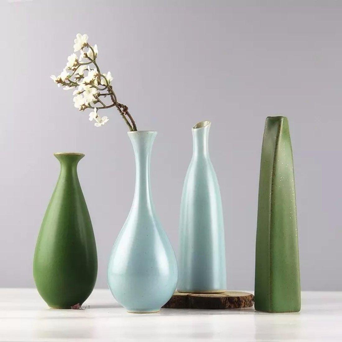 「汝窑花插」复古陶瓷花瓶