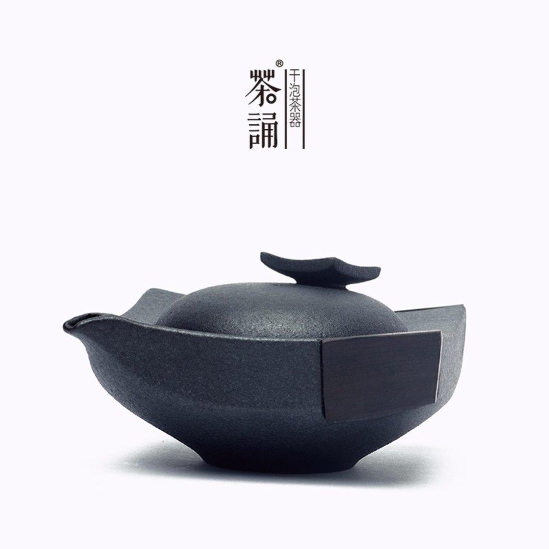 「手抓壶 」 防烫粗陶茶壶