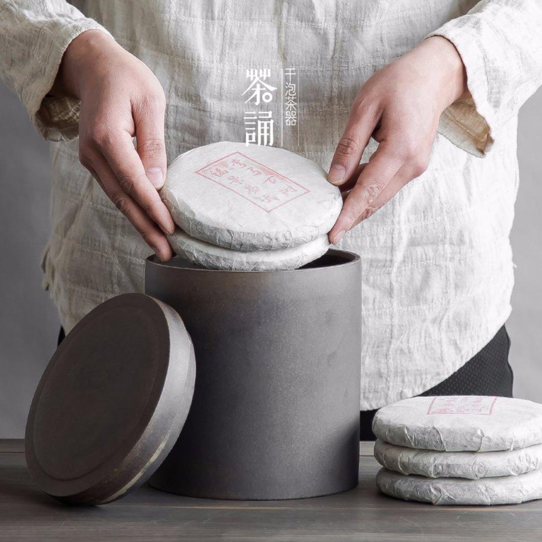 「储茶罐」茶叶贮存紫砂罐