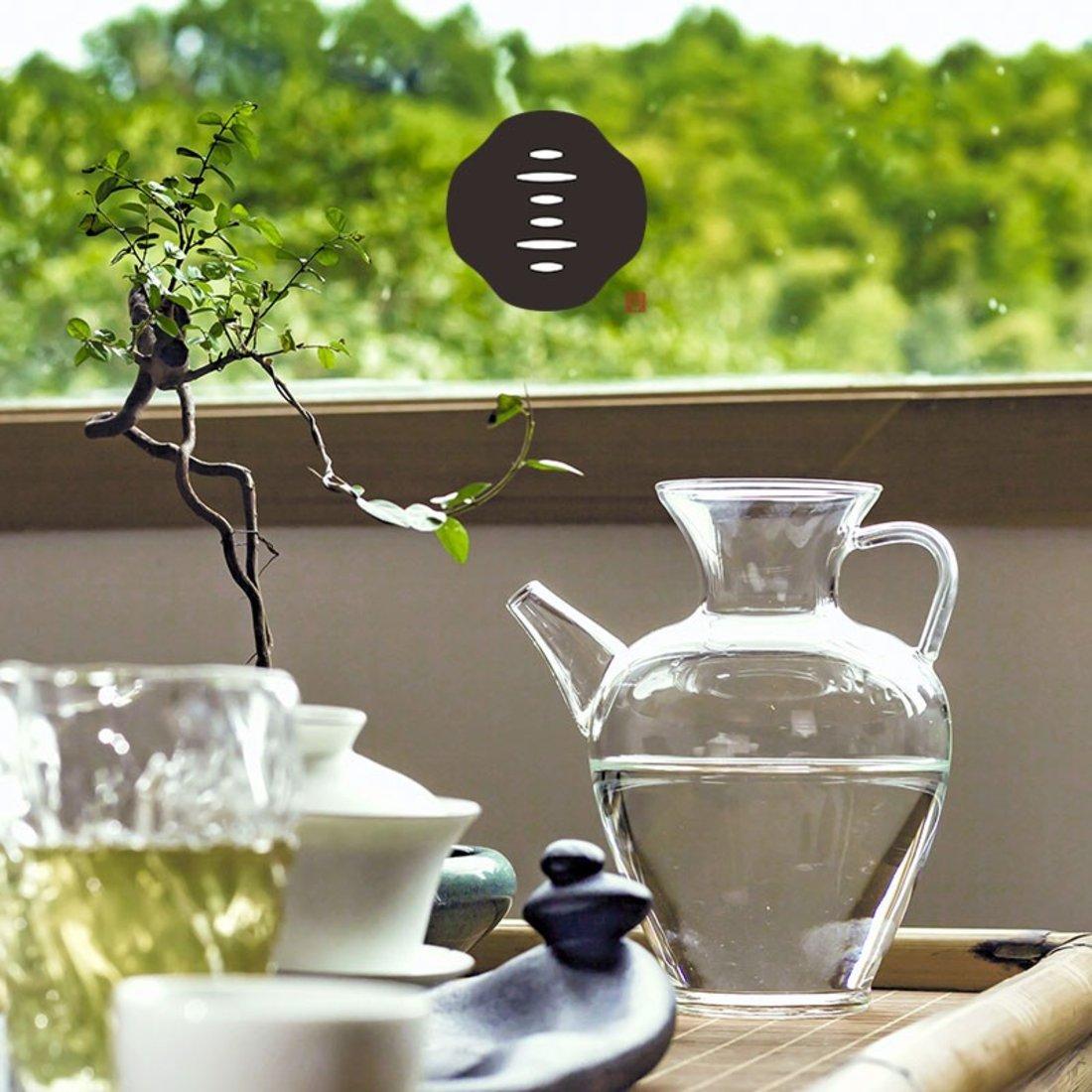 「仿宋执壶 」耐热高硼硅泡茶壶