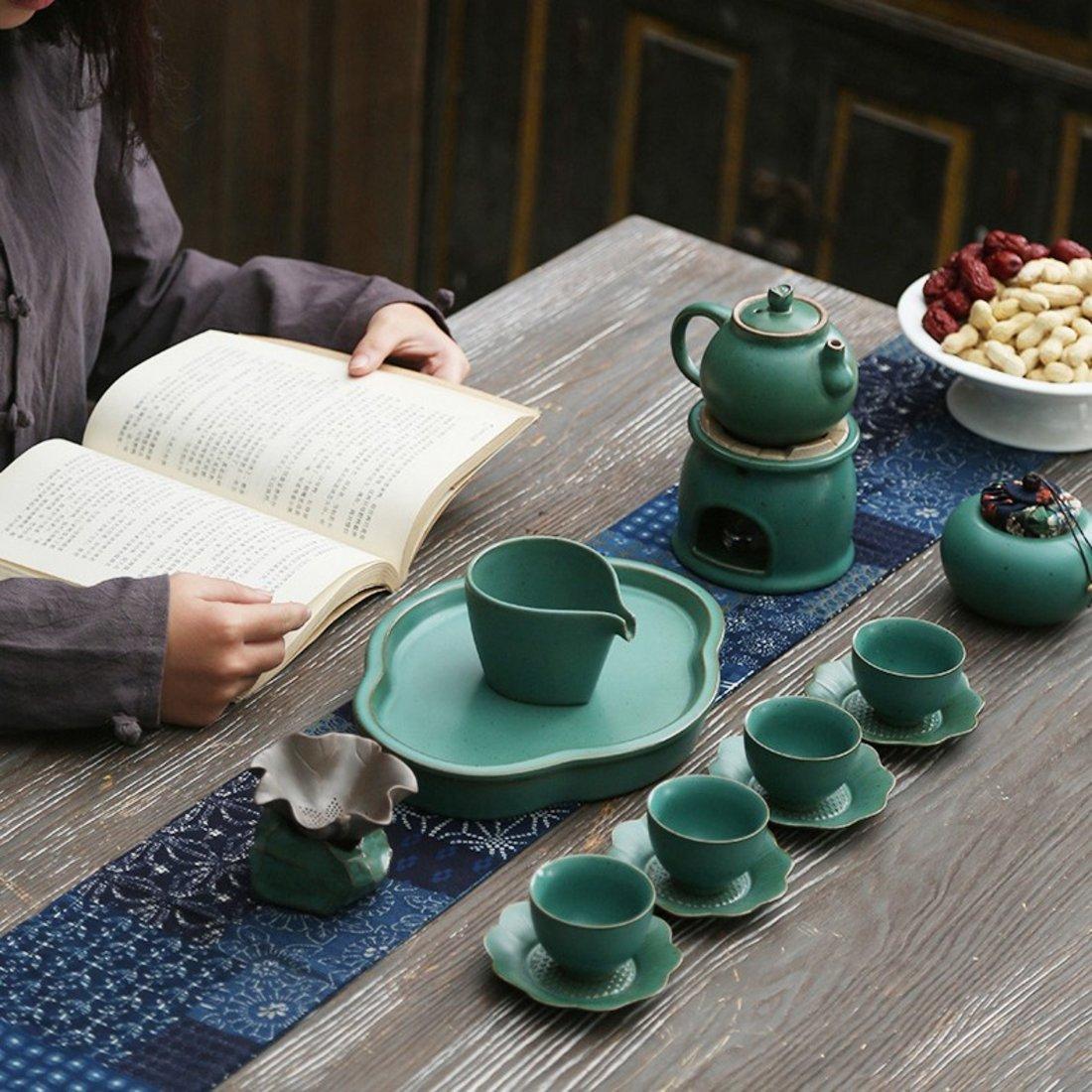 「茶漏」陶瓷茶叶过滤网