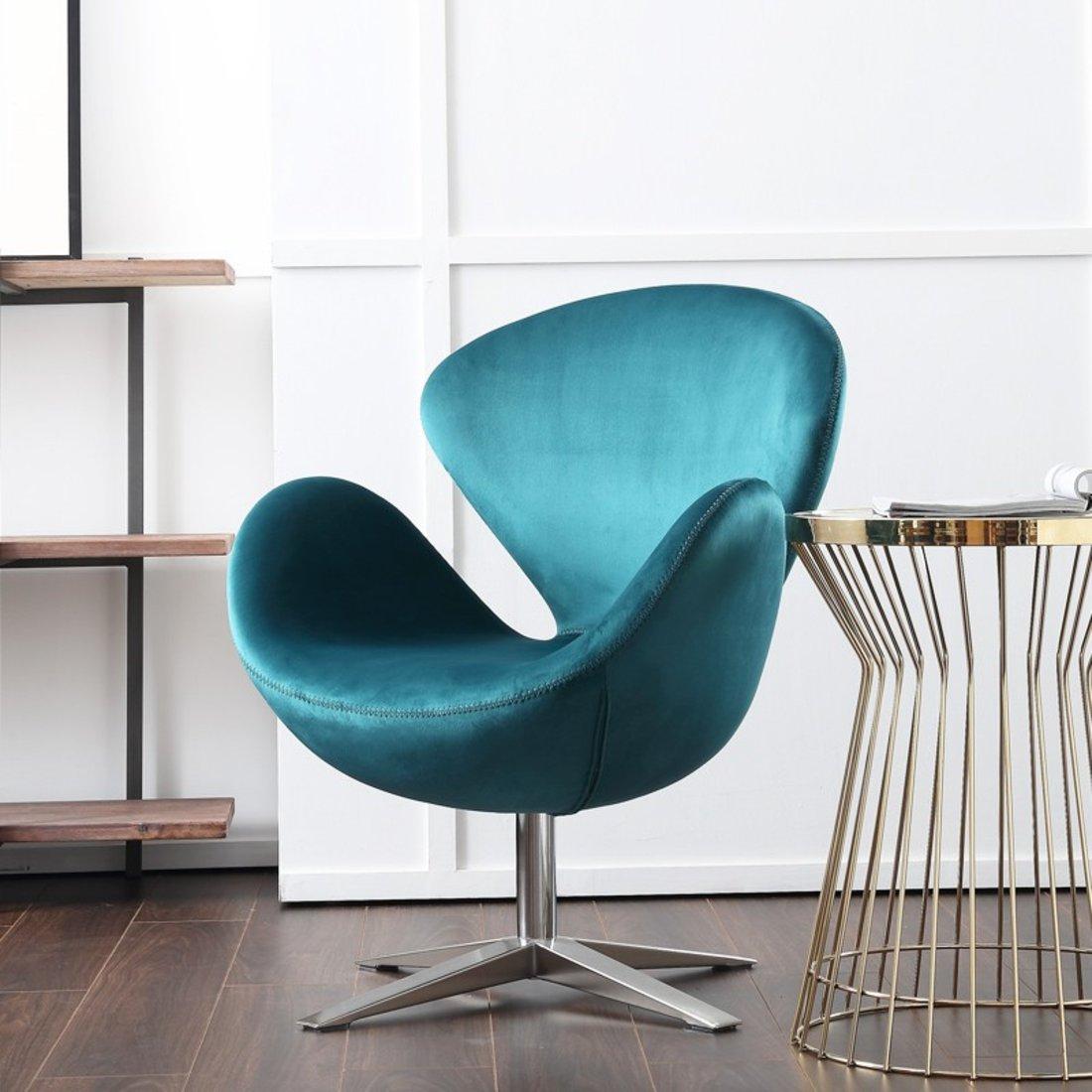 「蛋壳椅」360°旋转式金属蛋椅