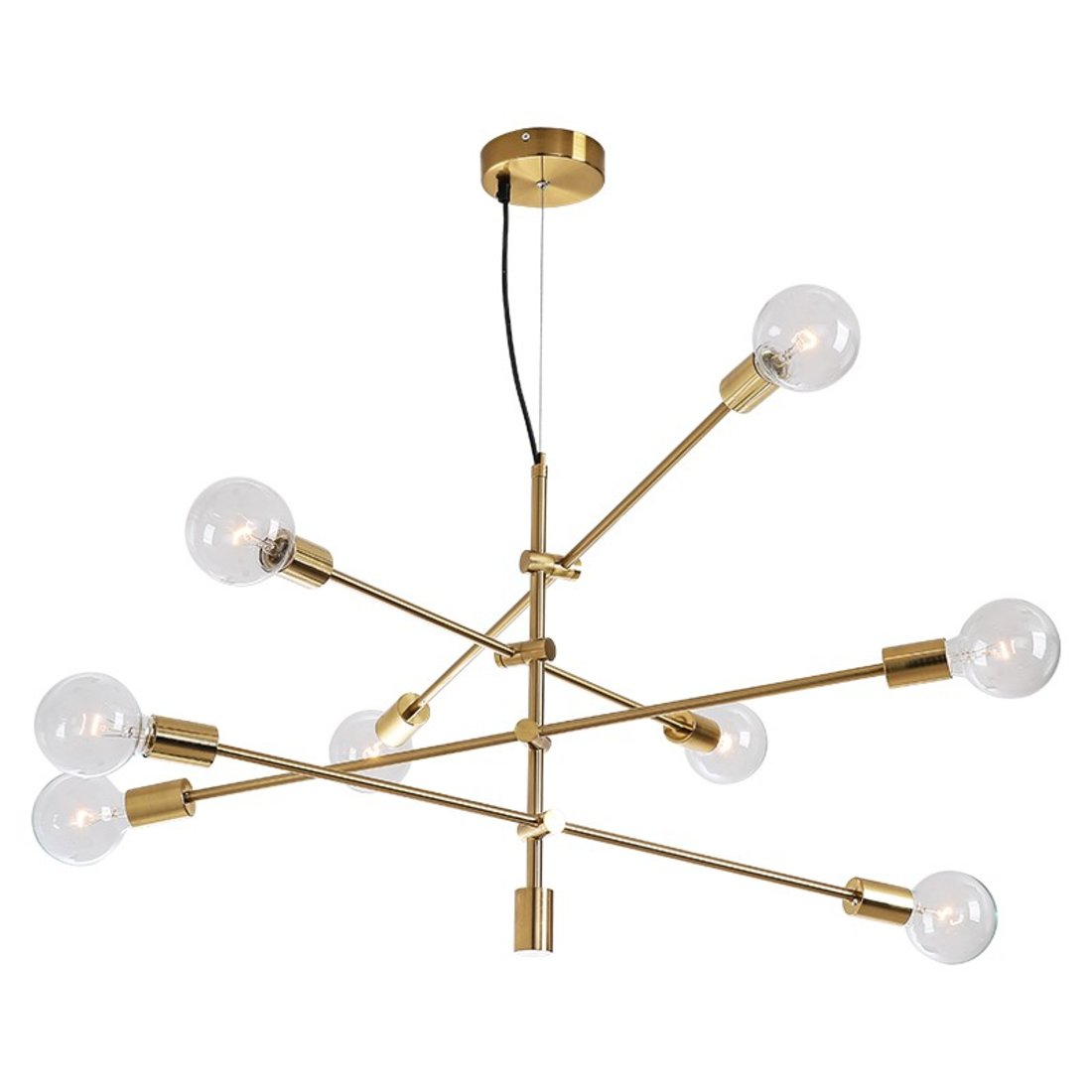「魔豆吊灯」个性线条灯具