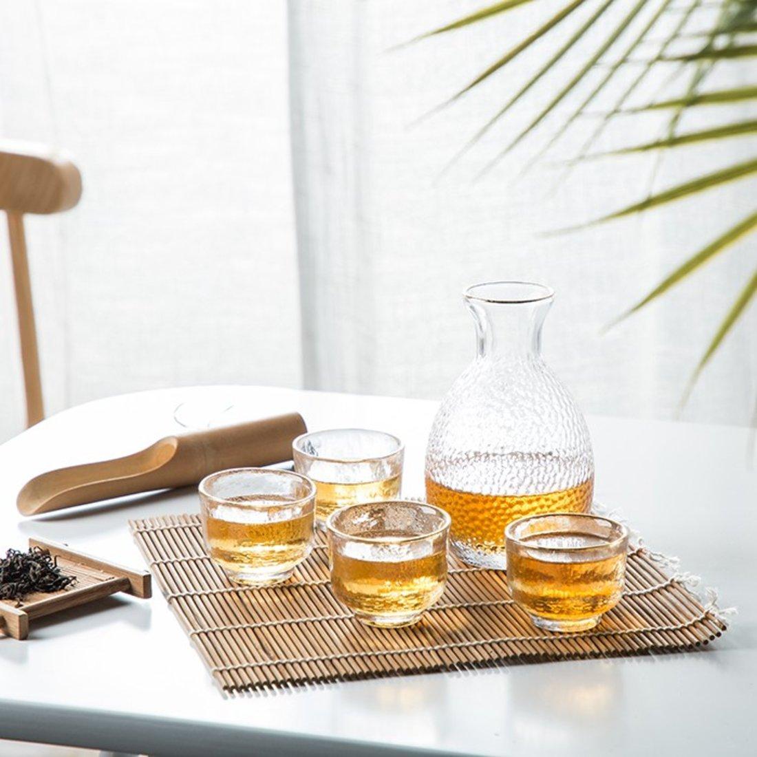 日式酒具描金套装