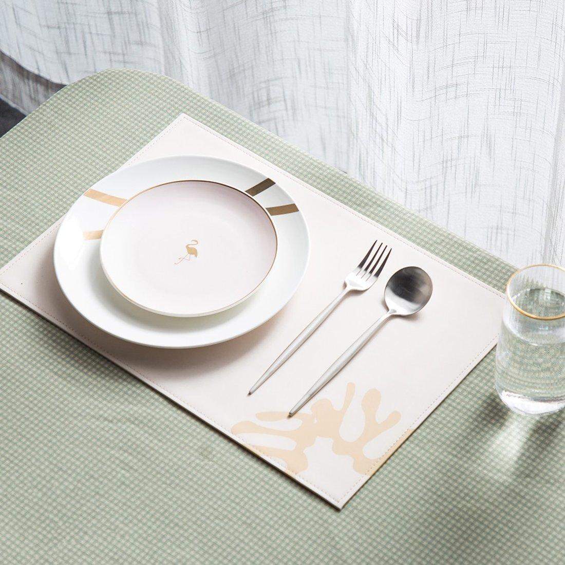 行走的马蒂斯系列 餐垫 皮革材质 餐桌装饰餐垫