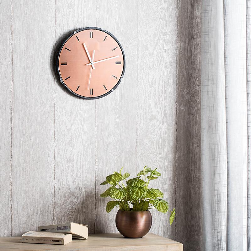 「时光挂钟」铁艺软装墙壁挂钟