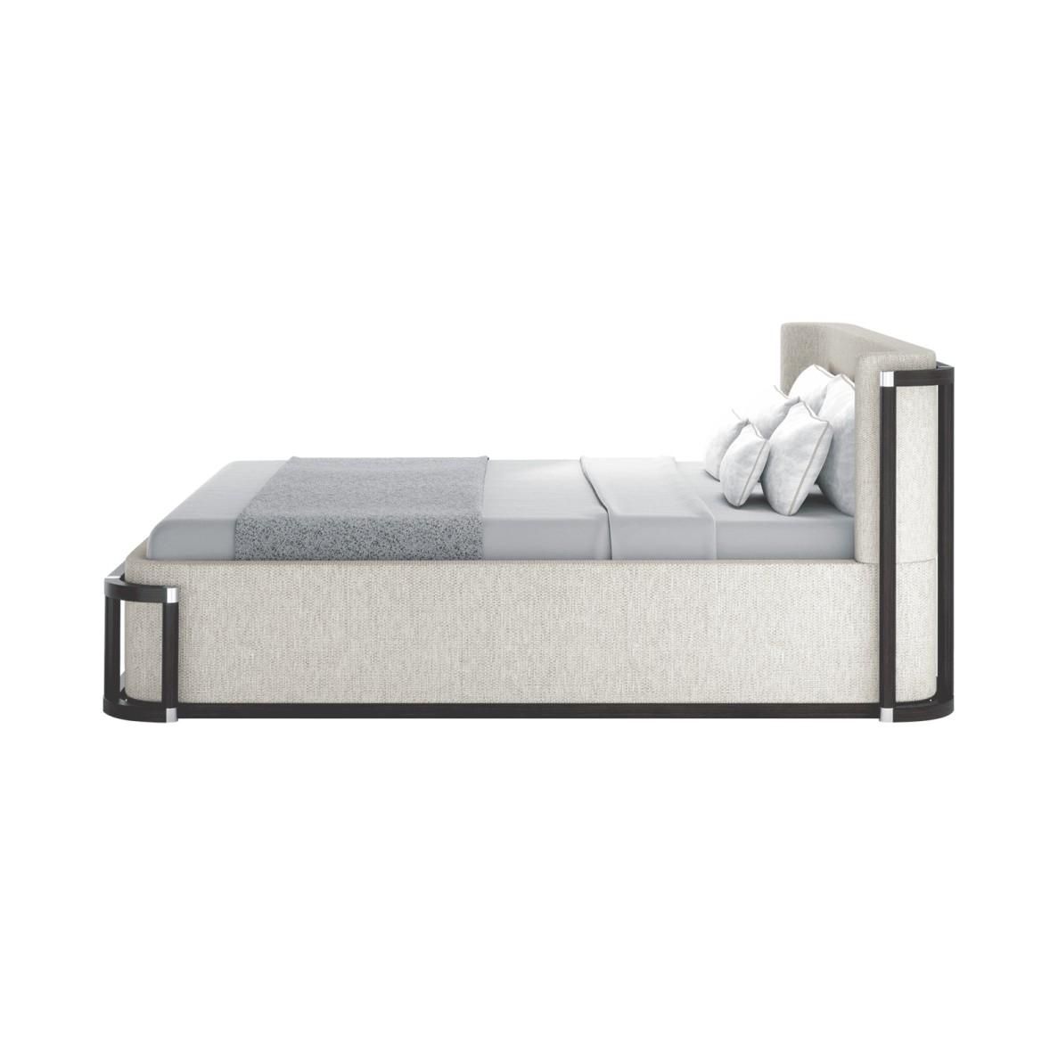 新中式米白风格床