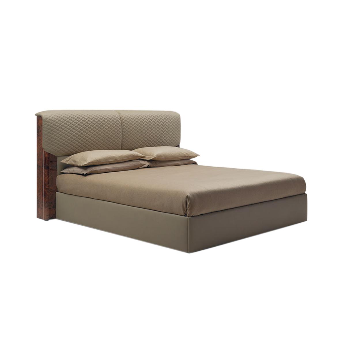 榉木实木脚架轻奢风格床