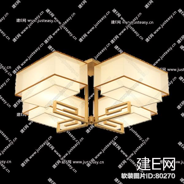 新中式吸顶灯客厅灯